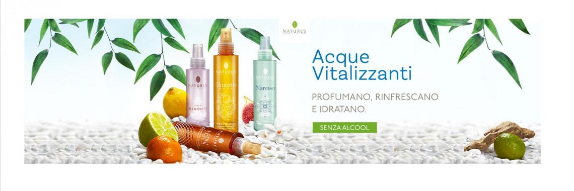ACQUE VITALIZZANTI NATURE'S Bios Line