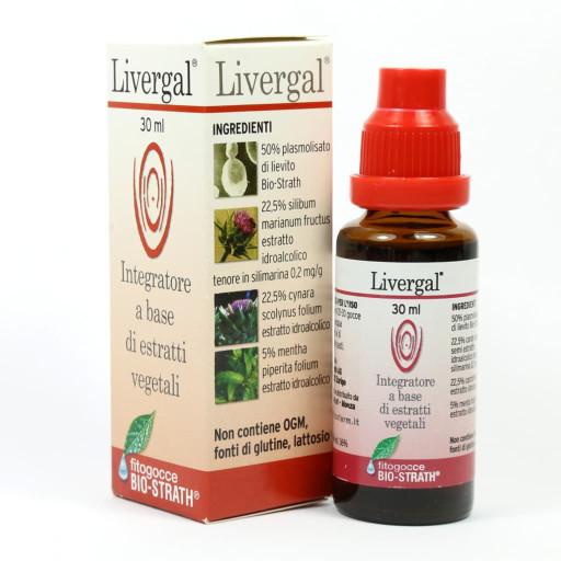 LIZOFARM - Livergal Fitogocce Bio-Strath - 30ml