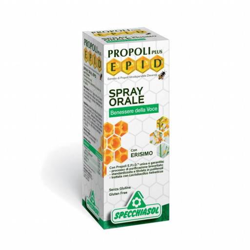 SPECCHIASOL - Spray orale con erisimo - Linea Epid - 15ml