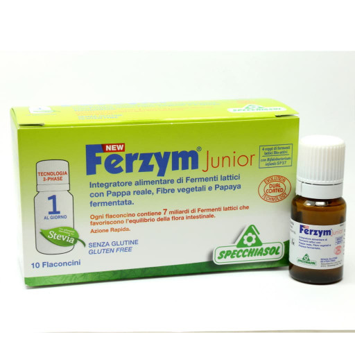 New Ferzym Junior - 10x8ml