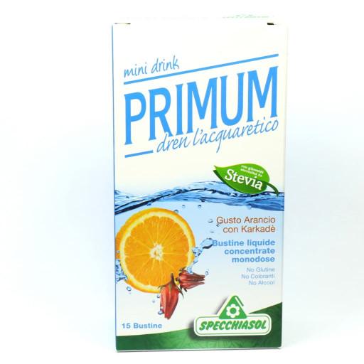 Primum Dren Minidrink gusto Arancio con Karkadè - 15 bustine