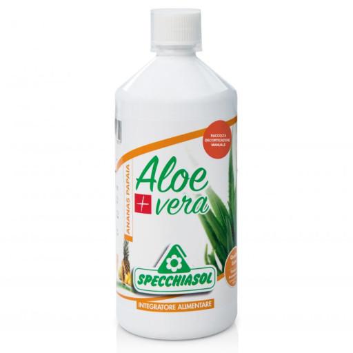 SPECCHIASOL - Succo di Aloe Vera + Ananas e Papaia - 1000ml