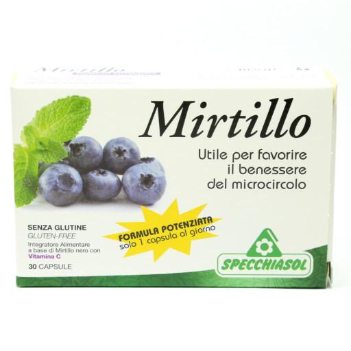 Mirtillo - Formula potenziata - 30 capsule