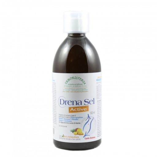 ERBORISTERIA OFFICINALE - Drena Sel Active gusto Ananas - 500ml