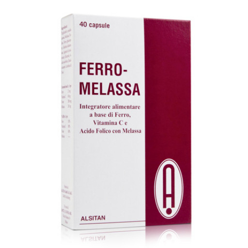 ALSITAN - Ferro-Melassa - 40 capsule