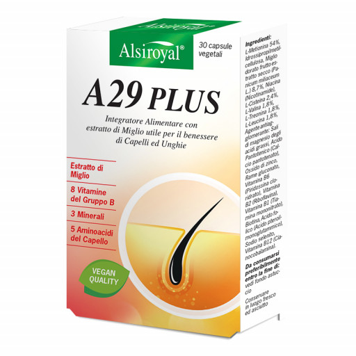 ALSIROYAL - A29 Plus - 30 capsule vegetali