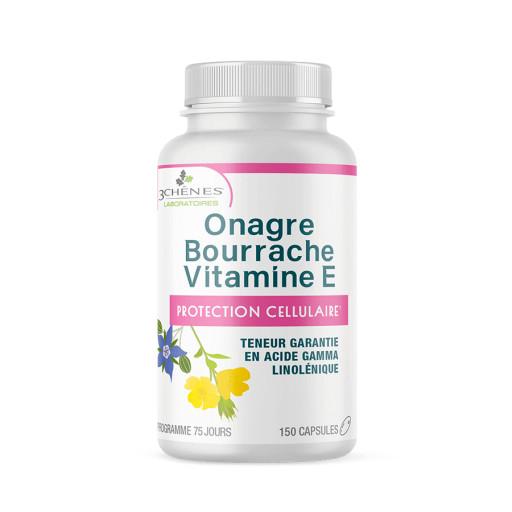 LES 3 CHÊNES - Olio di Oenothera e Borragine - 150 capsule