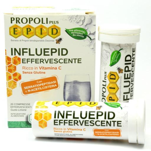 Influepid effervescente - Linea Epid - 20 compresse