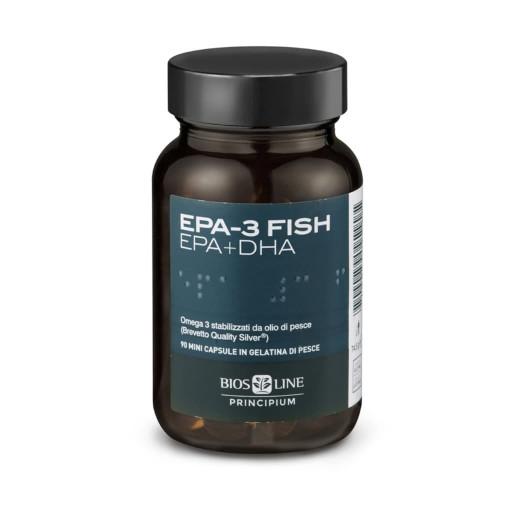 BIOS LINE  - Epa-3 Fish EPA+DHA - Linea Principium - 90 mini capsule
