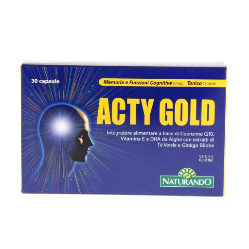 NATURANDO - Acty Gold - 30 capsule