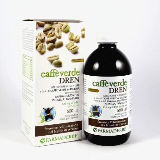 FARMADERBE - Caffè Verde Dren gusto Limetta - 500ml