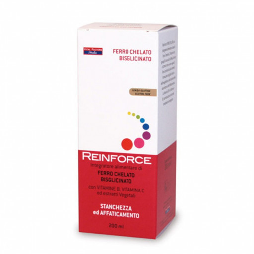 VITAL FACTORS - Reinforce ferro chelato - 200ml