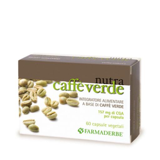 FARMADERBE - Caffè Verde - 60 capsule vegetali