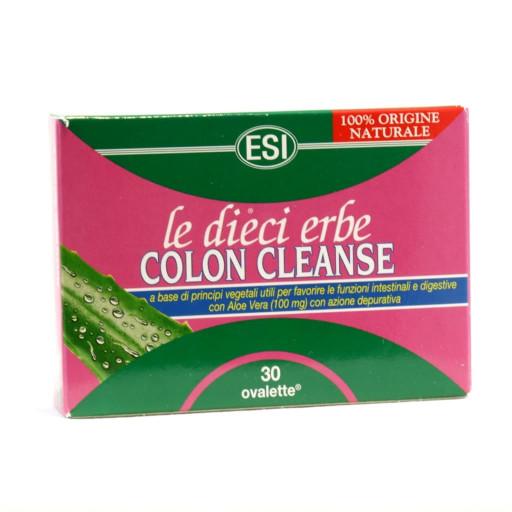 Le dieci erbe Colon Cleanse - 30 ovalette da 800mg
