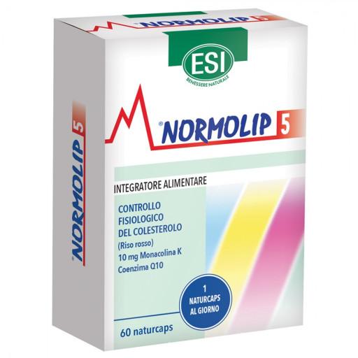 ESI - Normolip 5 - 60 naturcaps da 450mg