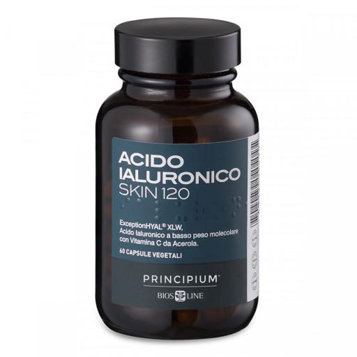 BIOS LINE  - Acido Jaluronico skin 120 - Linea Principium - 60 capsule