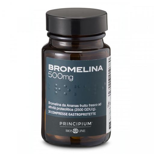 BIOS LINE  - Bromelina 500mg Principium - 30 compresse