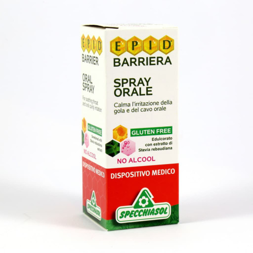 SPECCHIASOL - Barriera spray orale - Linea Epid - 15ml