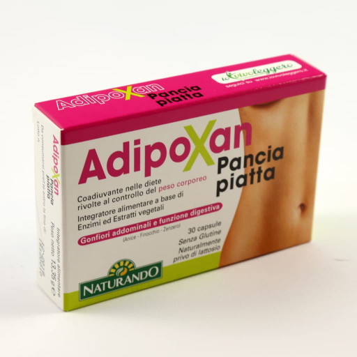 NATURANDO - Adipoxan Pancia Piatta - 30 capsule