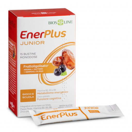 BIOS LINE  - Enerplus Junior - 15 bustine x 10ml