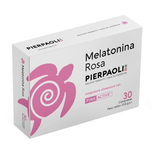 PIERPAOLI - Melatonina Rosa - 30 compresse
