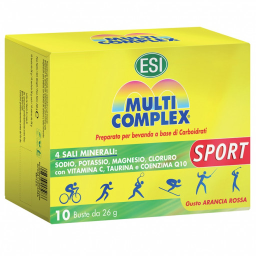 Multicomplex Sport - 10 buste da 26gr