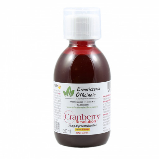 ERBORISTERIA OFFICINALE - Cranberry Resolution - 200ml