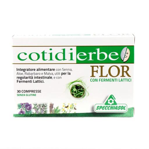 SPECCHIASOL - Cotidierbe Flor - 30 compresse