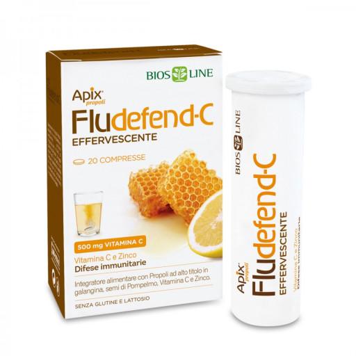Apix Propoli Fludefend-C Effervescente - 20 compresse