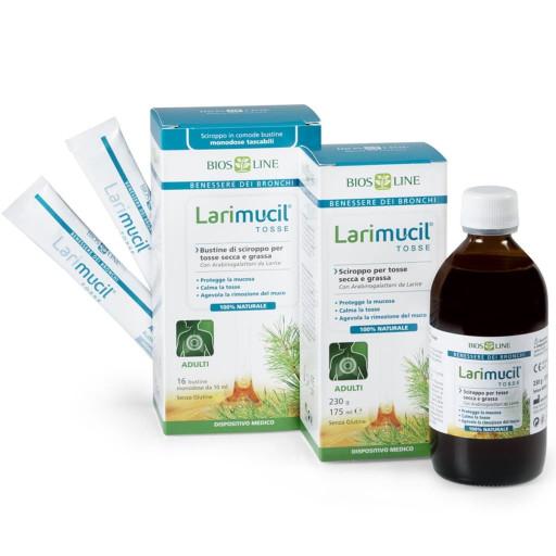 BIOS LINE - Larimucil tosse adulti bustine - 16x10ml