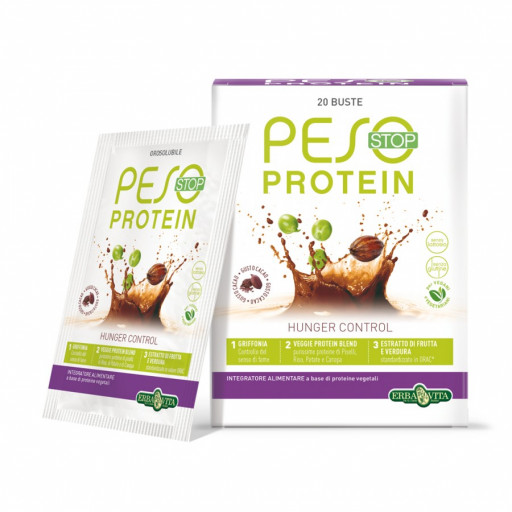 ERBA VITA - Peso Stop Protein - 20 buste da 15g