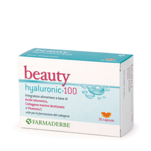 FARMADERBE - Beauty Hyaluronic 100 - 30 capsule