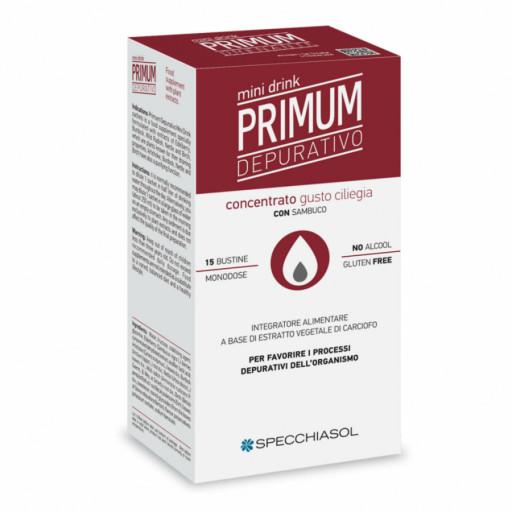 Primum Il Depurativo Minidrink gusto Ciliegia Nera - 20 bustine