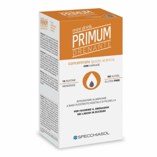 SPECCHIASOL - Primun Dren Minidrink gusto Arancio con Karkadè - 20 bustine