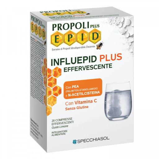 SPECCHIASOL - Influepid Plus effervescente - Linea Epid - 20 compresse