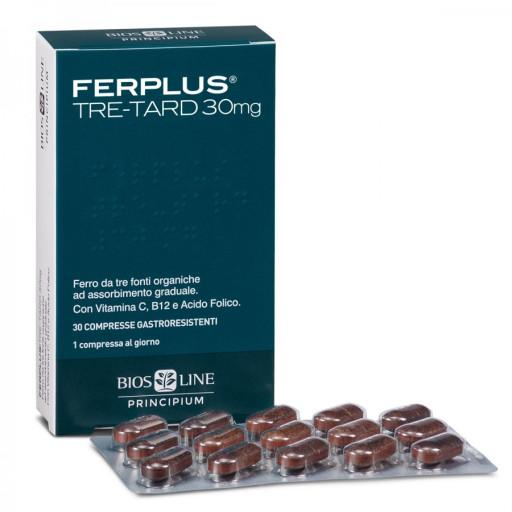 FerPlus Tre-Tard 30mg - Linea Principium - 30 compresse