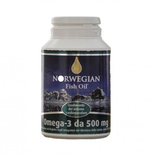 NORWEGIAN FISH OIL - Omega 3 - 180 capsule da 500mg