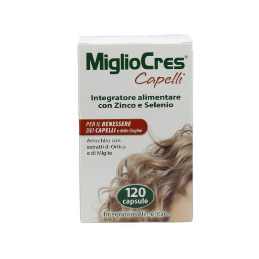 F&F _ MIGLIOCRES - Miglio Cres capelli - 120 capsule