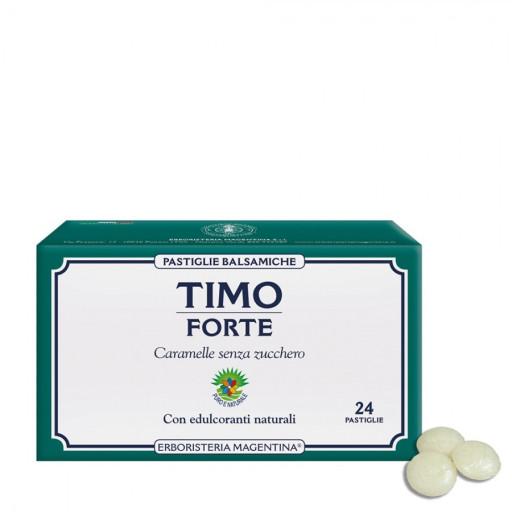 ERBORISTERIA MAGENTINA - Timo Forte Pastiglie Balsamiche - 24 pastiglie