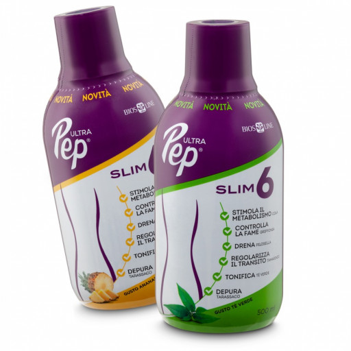 BIOS LINE  - UltraPep Slim 6 gusto Tè Verde - 500ml