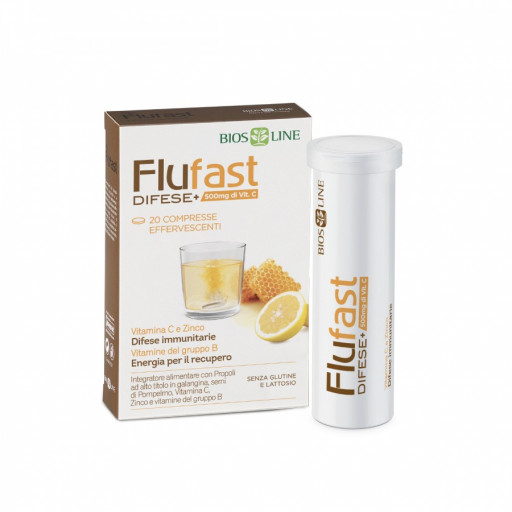 BIOS LINE  - FluFast Difese+ - 20 compresse effervescenti