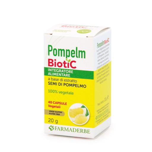 FARMADERBE - Pompelmbiotic - 40 capsule vegetali