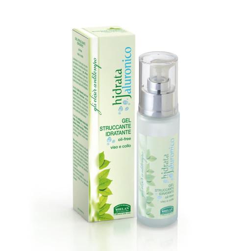 HELAN - Gel Struccante Idratante viso e collo oil free - Linea Hjdrata Jaluronico - 50ml