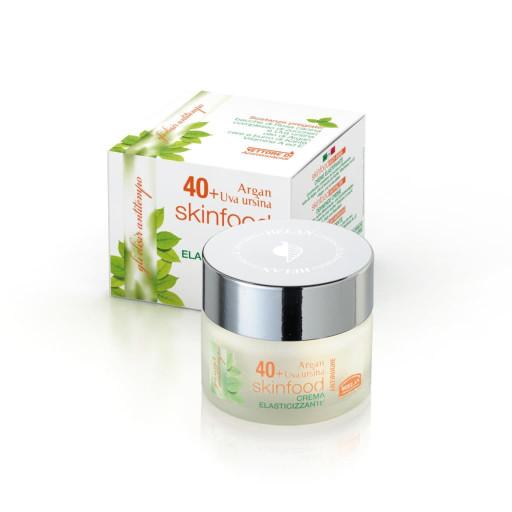 HELAN - Skinfood Antirughe 40+ Crema Elasticizzante viso, collo e décolleté - Linea Le Età della bellezza - 50ml