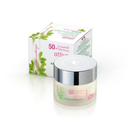 ATTIVA 50+ Crema Rassodante Giorno Soft Vision viso, collo e décolleté - Linea Le Età della Bellezza - 50ml