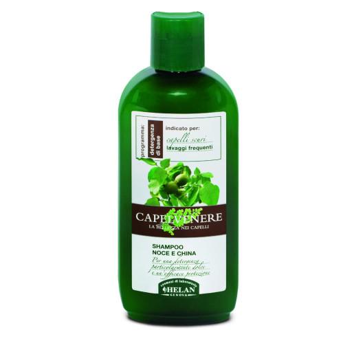 Shampoo Noce e China - Linea Capelvenere - 200ml