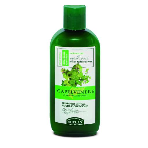 Shampoo Ortica, Edera e Crescione - Linea Capelvenere - 200ml