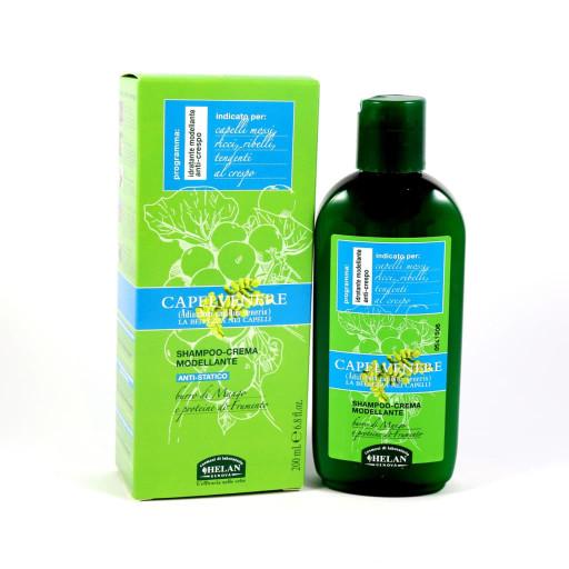 Shampoo-Crema Modellante Ant-Statico - Linea Capelvenere - 200ml