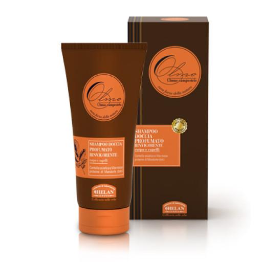 HELAN - Shampoo doccia profumato rinvigorente corpo e capelli - Linea Olmo - 200ml