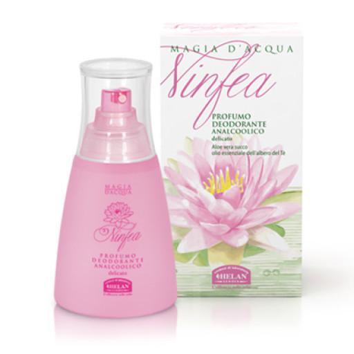 HELAN - Profumo Deodorante analcolico - Linea Ninfea - 125ml